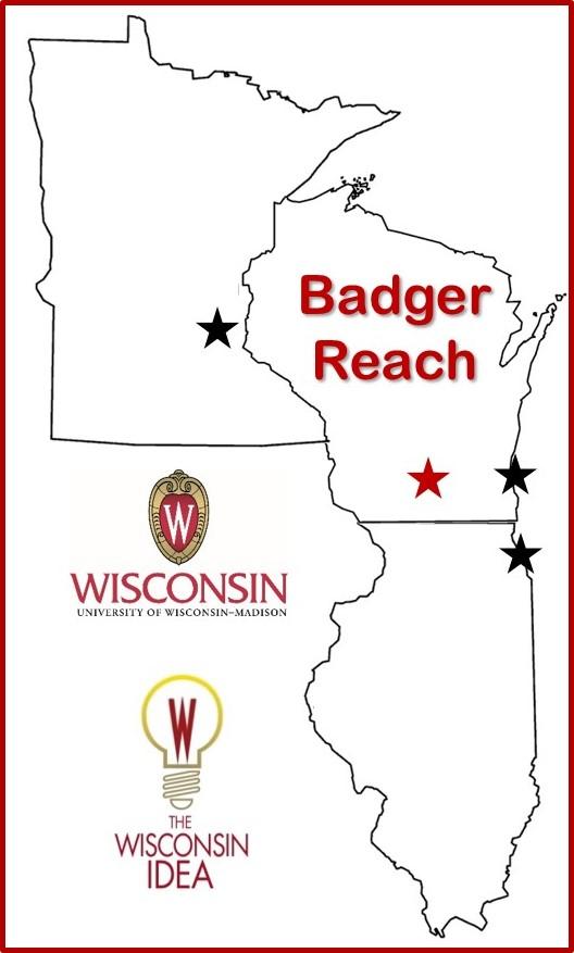 Badger Reach Map
